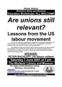 2001 WLM US labour
